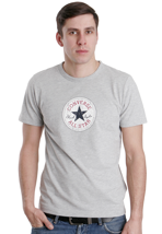Converse - Vintage Patch Grey Melange - T-Shirt