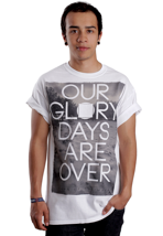 Dawn Of The Maya - Our Glory Days Are Over White - T-Shirt
