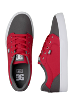 DC - Anvil TX Grey/Red - Shoes