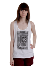 DC - Brasil Optic White - Girl Tank