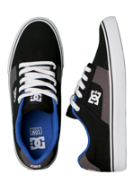 DC - Bridge TX Black/Battleship/Royal - Shoes
