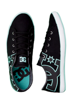 DC - Cleo Black/Green - Girl Shoes