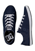 DC - Cleo DC Navy/White - Girl Shoes