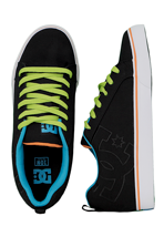 DC - Court Vulc TX Black/Soft Lime - Shoes