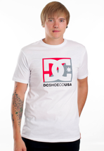 DC - Cross Star II White - T-Shirt