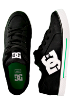 DC - Empire Canvas Black/White - Shoes