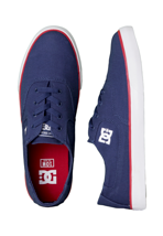 DC - Flash TX DC Navy/True Red - Shoes