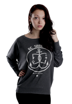 DC - Nautical Star Dark Shadow - Girl Sweater