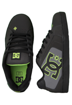 DC - Net Pirate Black/Soft Lime - Shoes