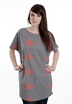 DC - Raw Power Heather Grey - Girly