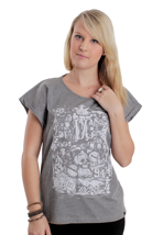 DC - Rebel Heart First Grey - Girly