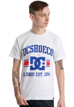 DC - Rob Dyrdek Alumni White/Royal - T-Shirt