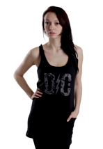 DC - Rose Logo - Girl Dress