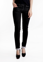 DC - Skinny Color Dark Shadow - Girl Jeans