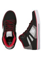 DC - Spartan High WC TX Black/Battleship/Red - Shoes
