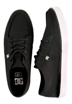 DC - Standard TX Black/White - Shoes