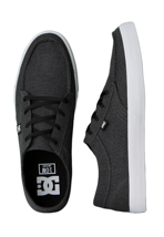 DC - Standard TX Black/White/Black - Shoes