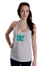 DC - Star Grey Heather - Girl Tank