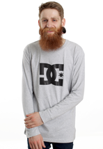 DC - Star Heather Grey - Longsleeve