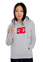 DC - Star Heather Lips Red - Girl Hoodie