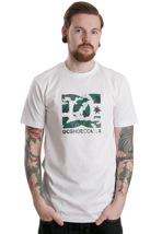 DC - The Race White - T-Shirt