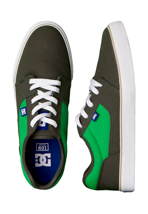 DC - Tonik TX Forest Green/White - Shoes