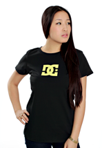 DC - TStar Black/Neon Yellow - Girly