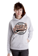 Deez Nuts - Bout It Circle Sportsgrey - Girl Hoodie