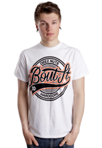 Deez Nuts - Bout It Circle White - T-Shirt