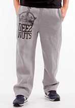 Deez Nuts - Crown Grey - Sweat Pants