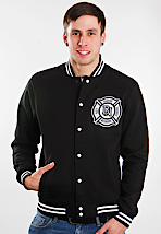 Deez Nuts - Fire Dept - College Jacket