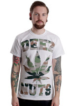 Deez Nuts - Too High White - T-Shirt