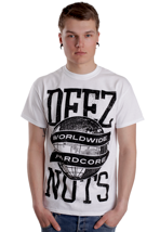 Deez Nuts - Worldwide White - T-Shirt