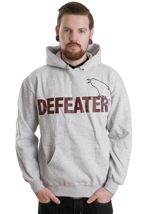 Defeater - Bird Heather Grey - Hoodie