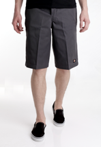 "Dickies - 13"" Multi Pocket Work Charcoal Grey - Shorts"