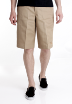"Dickies - 13"" Multi Pocket Work Khaki - Shorts"