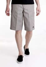 "Dickies - 13"" Multi Pocket Work Short Silver Grey - Shorts"