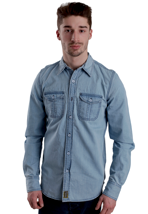 Dickies - Blue Collar Denim Blue - Hemd