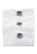 Dickies - Dickies Pack Of 3 White - T-Shirt