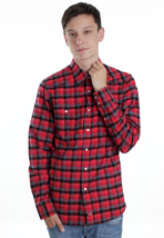 Dickies - Freeport Black/Red - Shirt