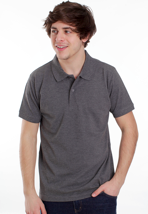 Dickies - Hemet Dark Grey Melange - Polo