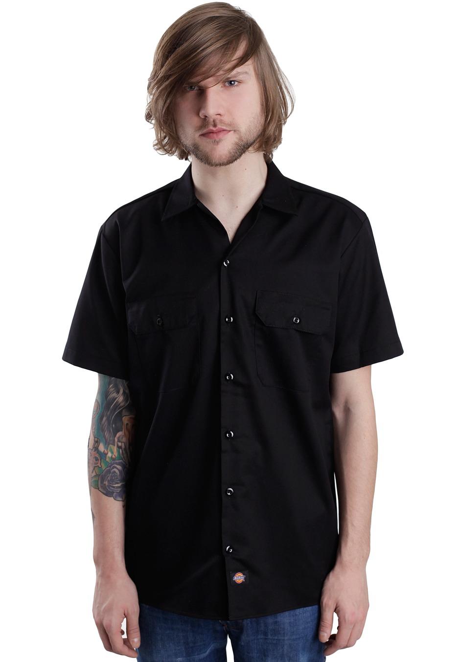 Dickies short sleeve work shirt uk for Dickies short sleeve plaid shirt