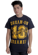 Dream On, Dreamer - Come Home Navy - T-Shirt