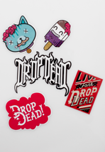 Drop Dead - Bite Me! - Sticker Pack