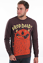 Drop Dead - Excited! Brown - Sweater