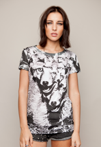 Drop Dead - Freaky Fox White - Girly