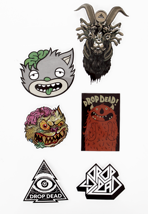 Drop Dead - Mascot - Sticker Pack