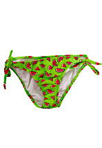 Drop Dead - Melons! String Neongreen - Bikini Bottom