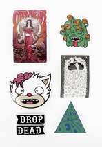 Drop Dead - Mind Games - Sticker Pack
