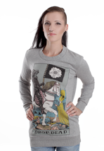Drop Dead - Tarot Grey - Girl Sweater